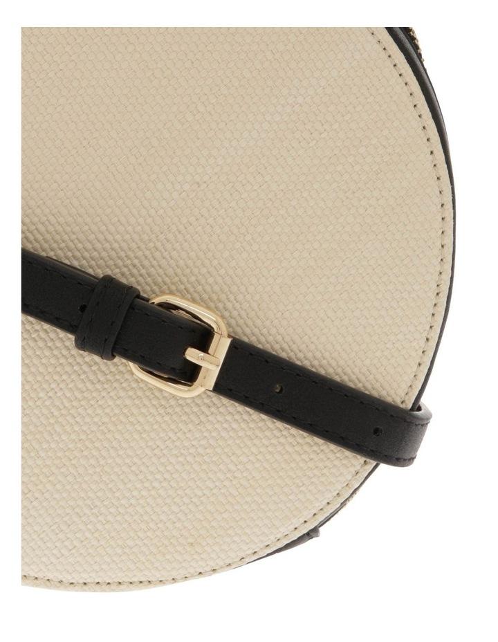 Woven Round Cross Body Bag image 3