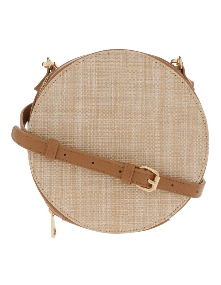 Woven Round Cross Body Bag image 1