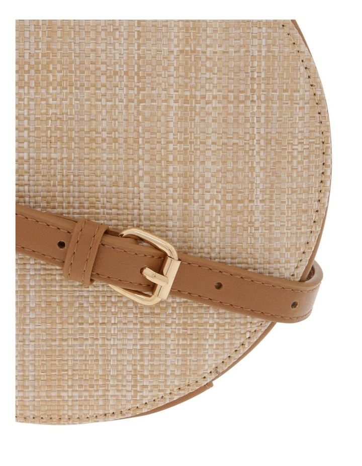Woven Round Cross Body Bag image 3