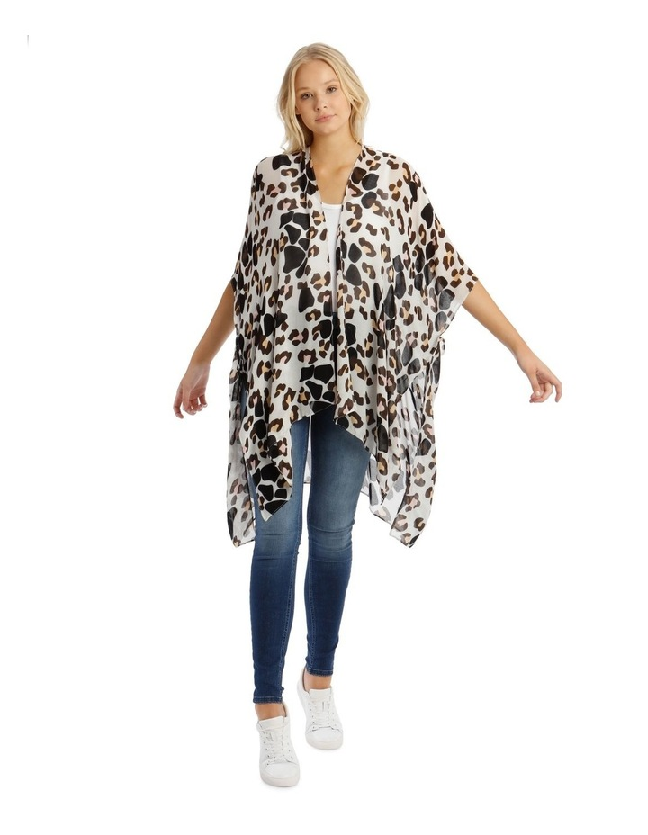 Animal Print Wrap Kaftan image 1