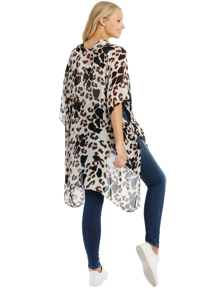 Animal Print Wrap Kaftan image 2