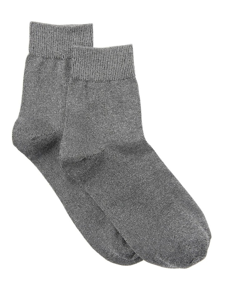 Lurex With Ribbing Socks image 1
