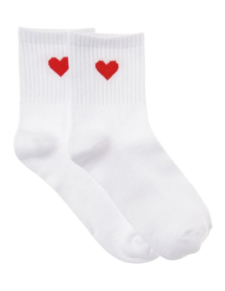 Love Heart Socks image 1