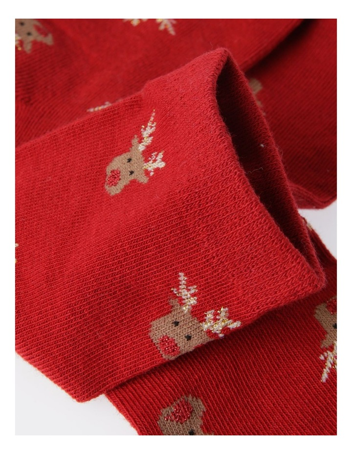 Reindeer Socks With Box image 4