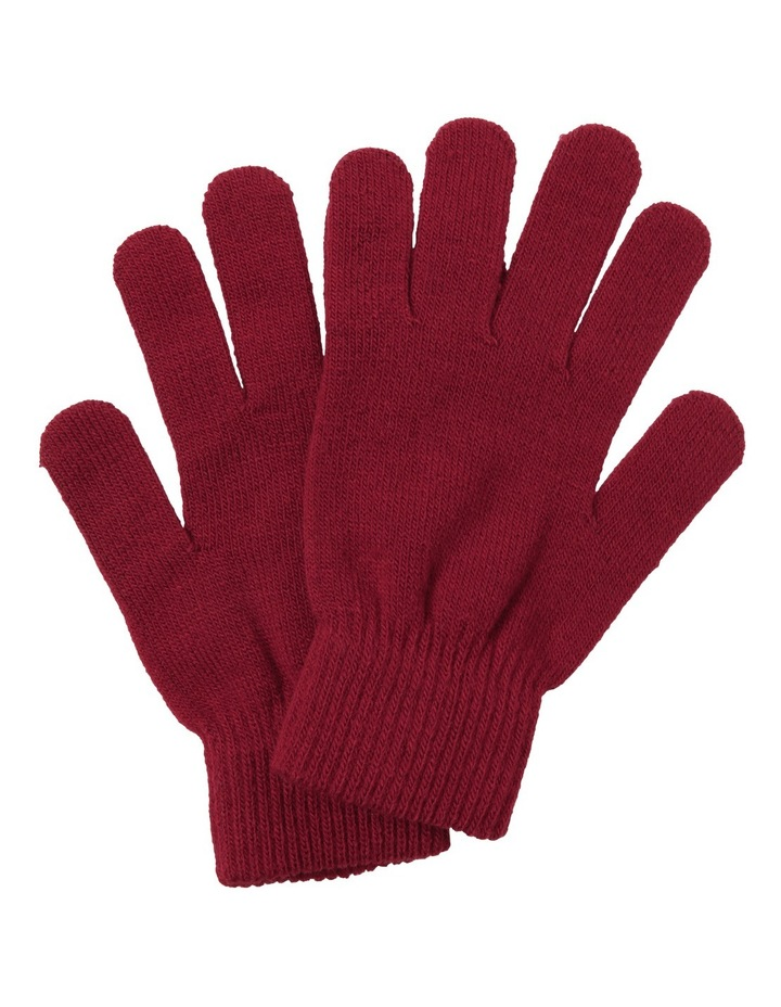 Core Glove Burgandy image 1