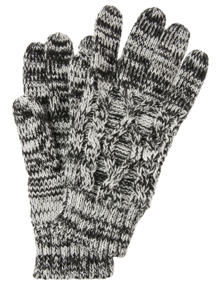 Cable Knit Gloves image 1