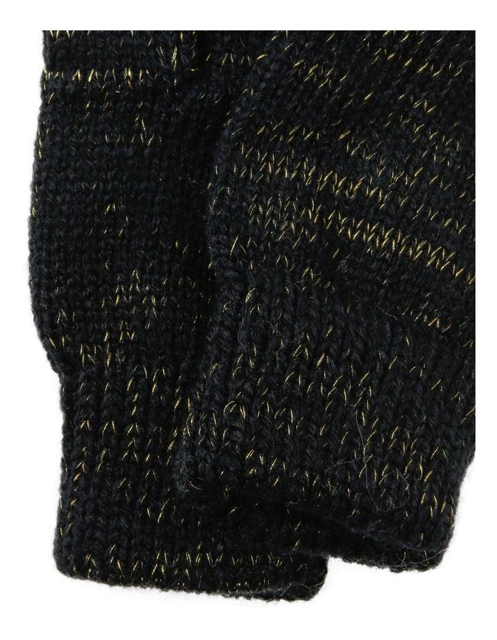 Lurex Metallic Gloves image 2