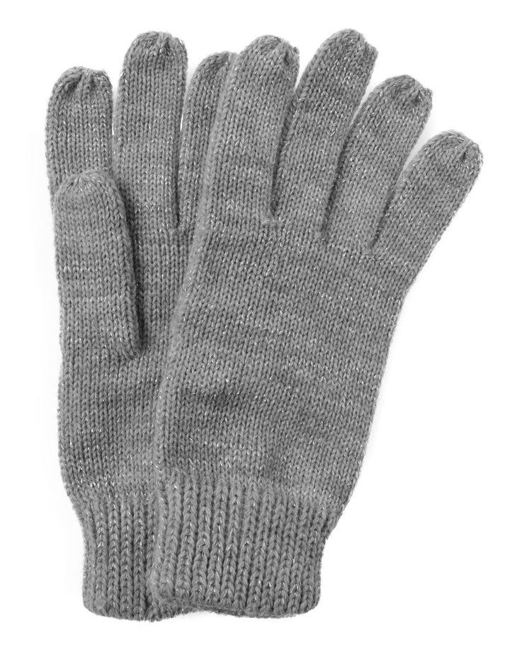 Lurex Metallic Gloves image 1