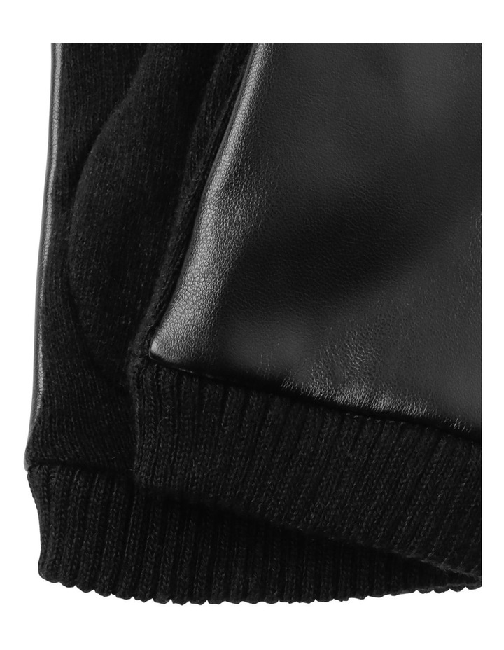 Leather Look Basic Gloves image 2