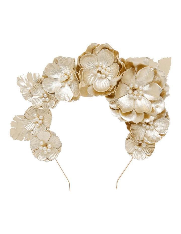 Gold Pu Hi Crown Headband image 1 b8a05c5a174