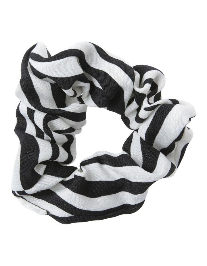 Zebra Scrunchie Hair image 1