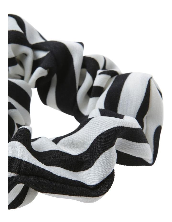 Zebra Scrunchie Hair image 2