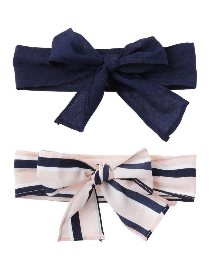Hair Bow Ties Set Of 2 image 1
