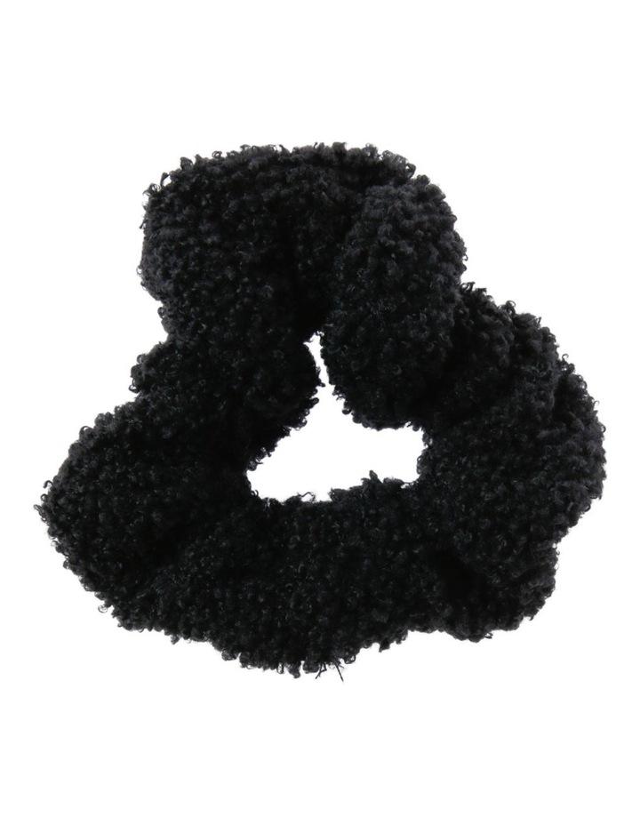 Teddy Faux Fur Scrunchie Hair image 1