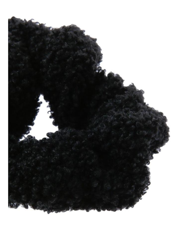 Teddy Faux Fur Scrunchie Hair image 2