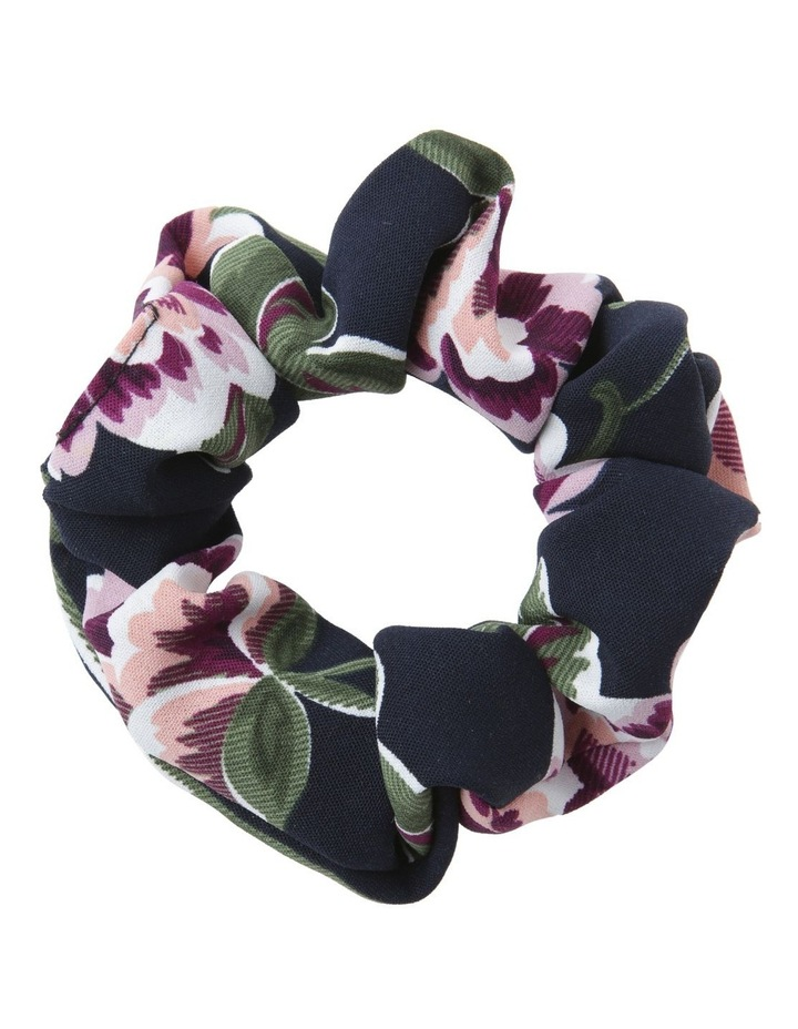 Printed Floral Scrunchie Hair image 1