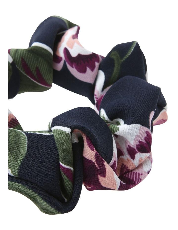 Printed Floral Scrunchie Hair image 2