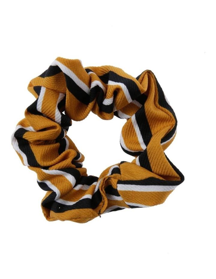 Mustard Stripe Scrunchie image 1