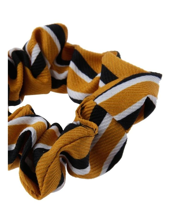 Mustard Stripe Scrunchie image 2