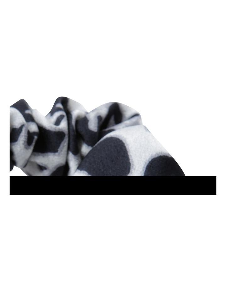 Animal Print Scrunchie Hair image 2