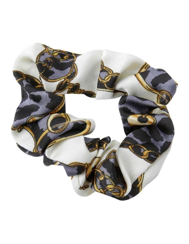 Chain Print Hair Scrunchie image 1