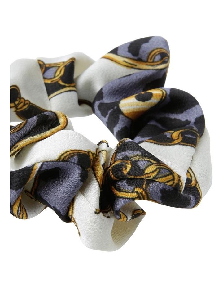 Chain Print Hair Scrunchie image 2