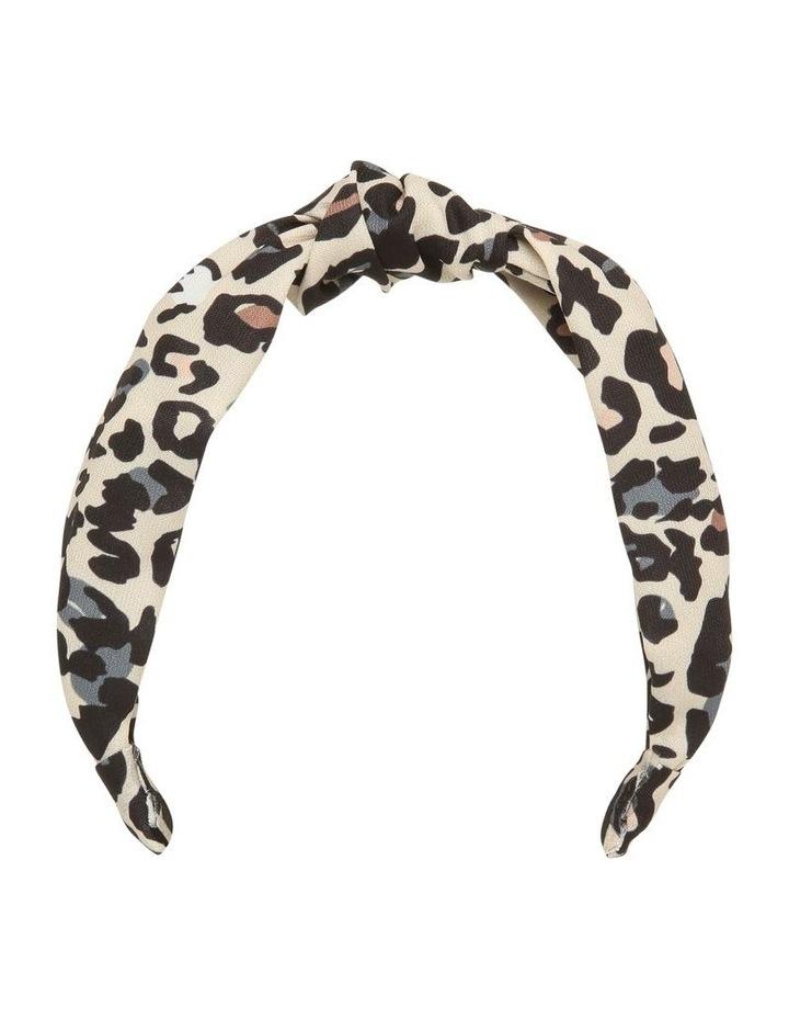 Leopard Knot Headband image 1