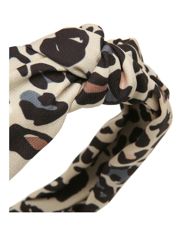 Leopard Knot Headband image 3