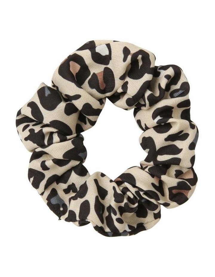Pastel Leopard Scrunchie image 1