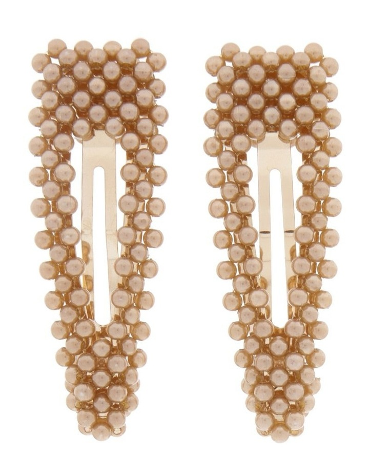 2 Pack Pearl Snap Clips image 1