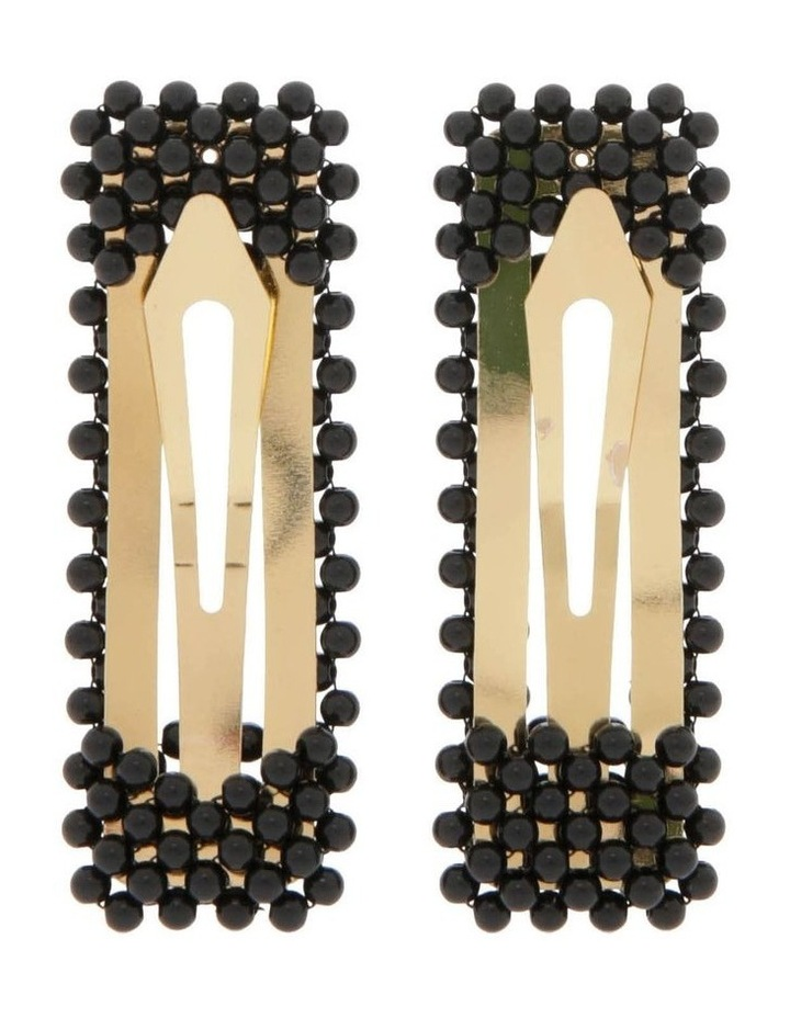 2 Pack Beaded Hair Clips image 2