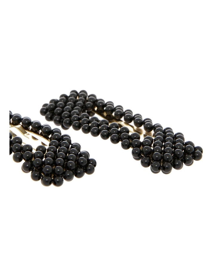 2 Pack Beaded Hair Clips image 3