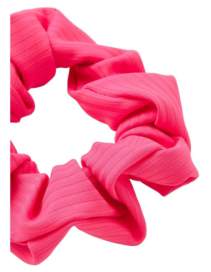 Ribbed Neon Scrunchie image 2