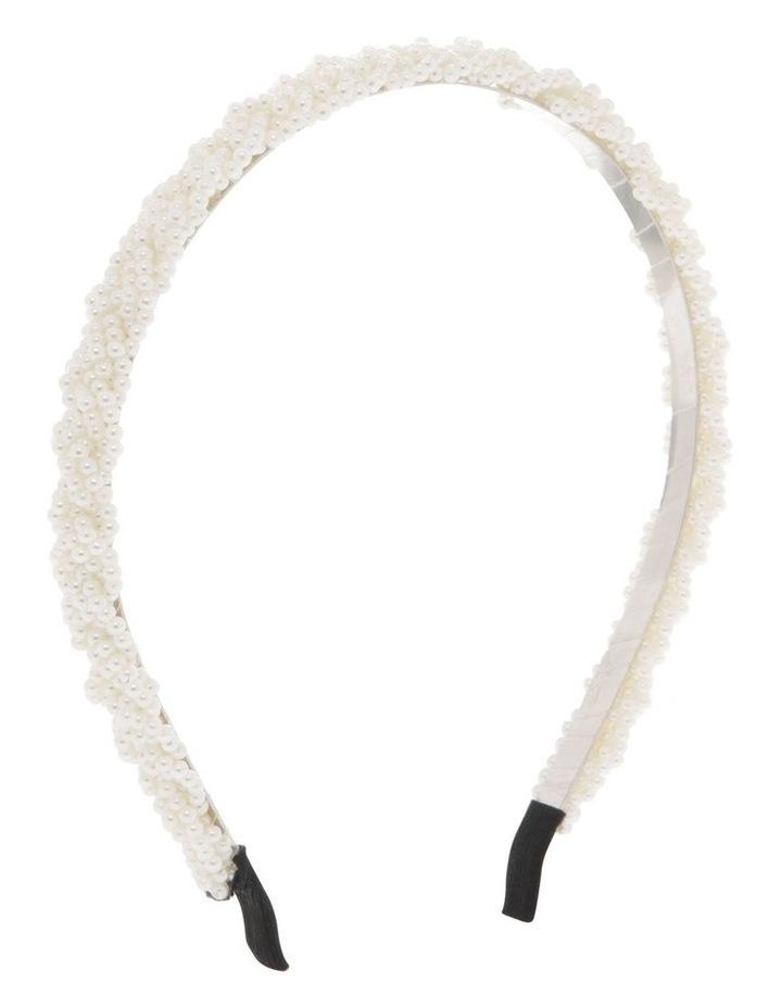 1.5cm Pearl Headband image 2