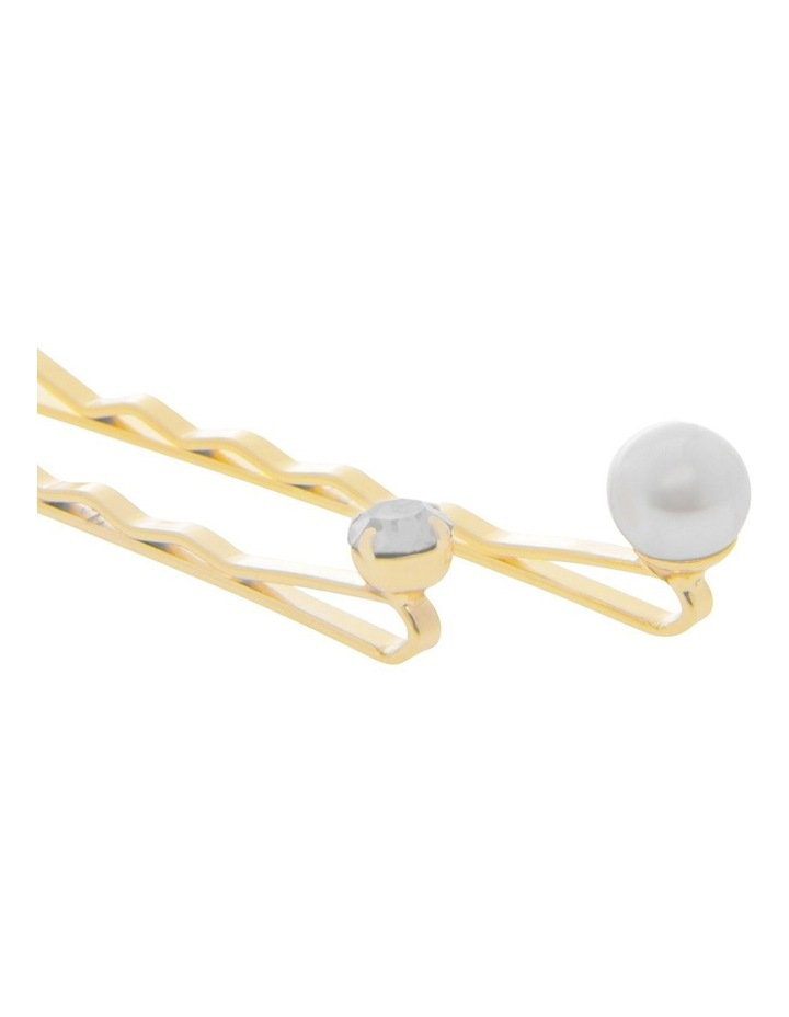 8 Pack Pearl And Crystal Pins image 2