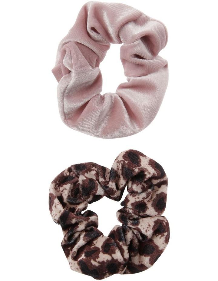 Velvet Scrunchie 2 Pack image 1