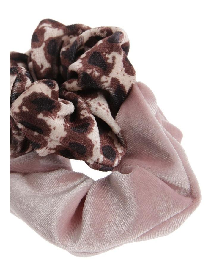 Velvet Scrunchie 2 Pack image 2