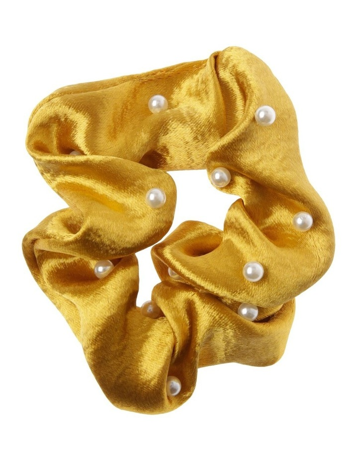 Satin Pearl Scrunchie image 1