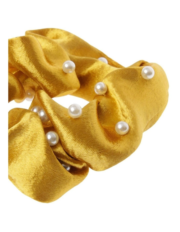 Satin Pearl Scrunchie image 2