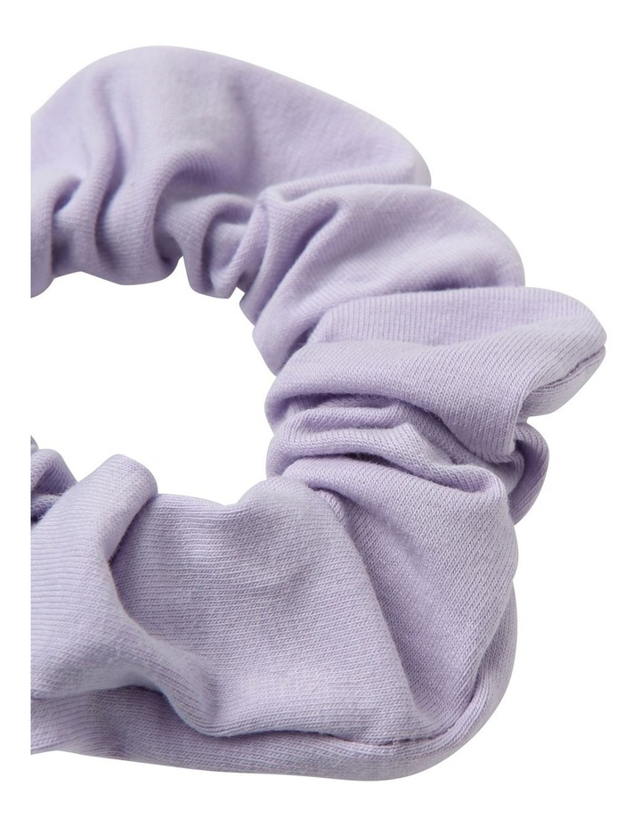 Lilac Jersey Scrunchie 2 Pack image 2