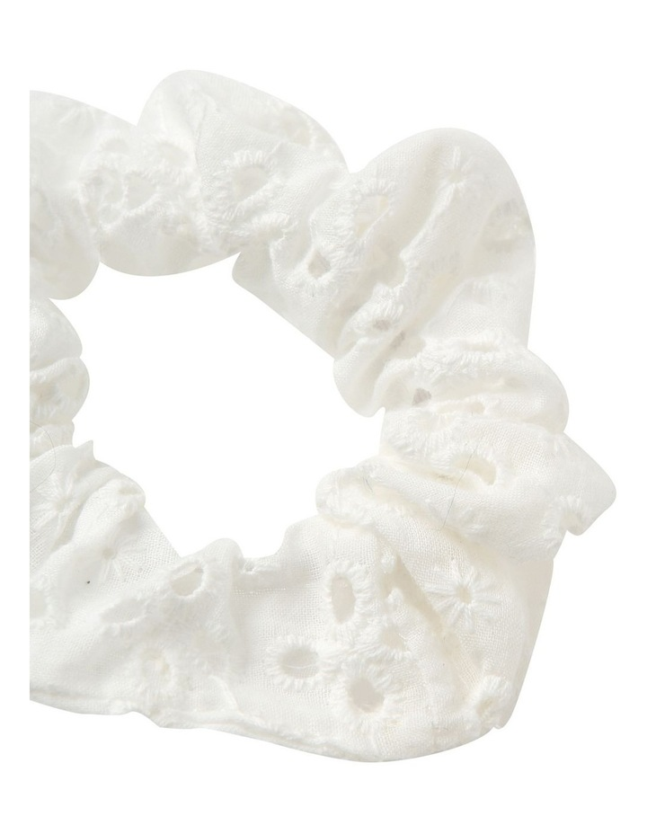 Broidery Scrunchie 3 Pack Hair Accessory image 3