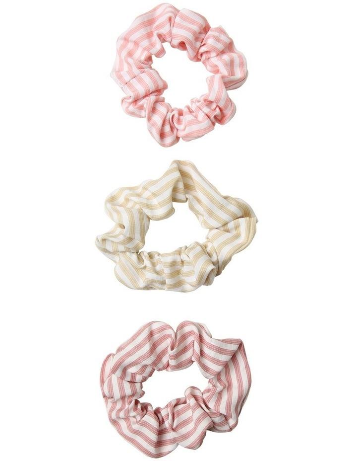 Stripe Scrunchies 3 Pack image 1