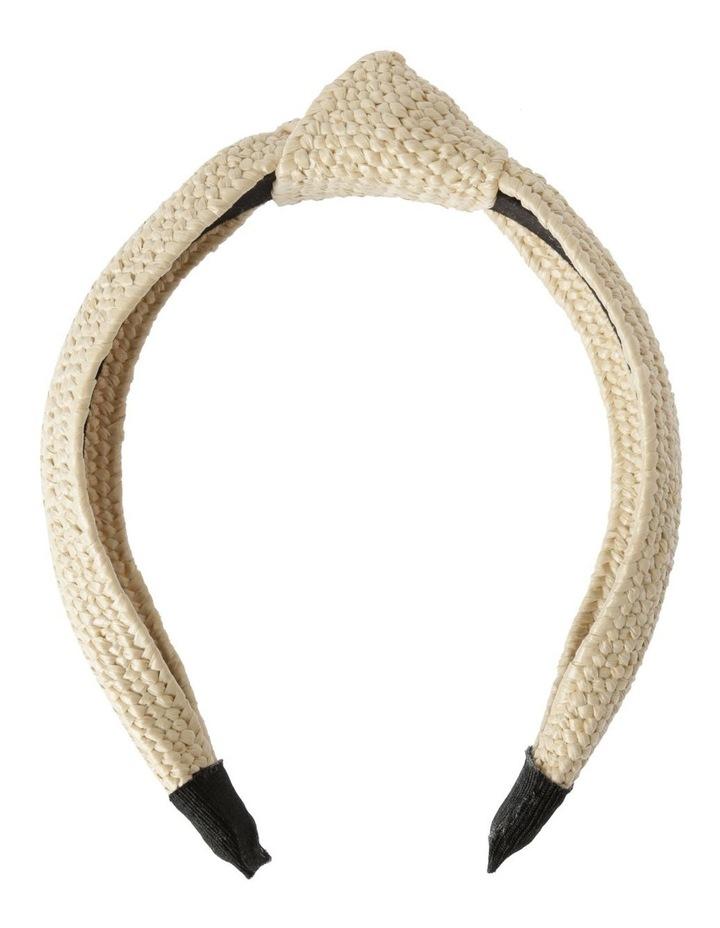 Textured Knot Headband Hair Accessory image 1