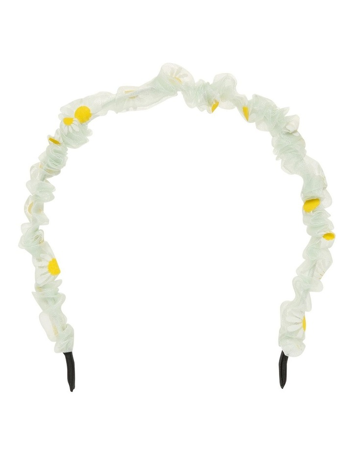 Daisy Embroidered Headband Twin Pack Hair Accessory image 3