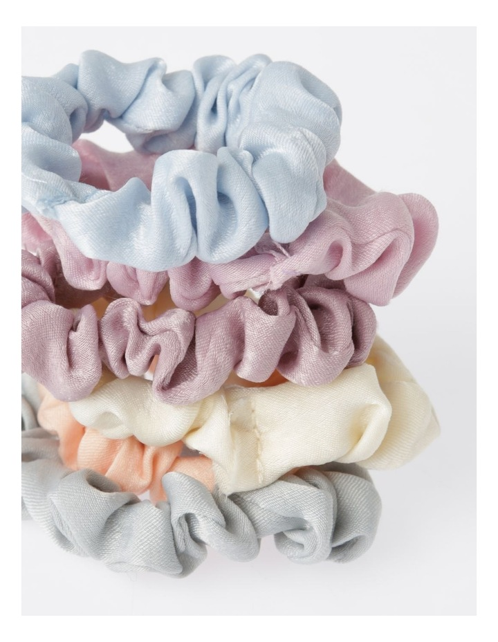 6Pk Small Scrunchie Xmas Bauble Hair Accessory image 3