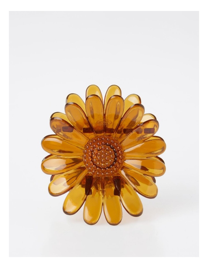 Large Brown Flower Hair Clip Hair Accessory image 1