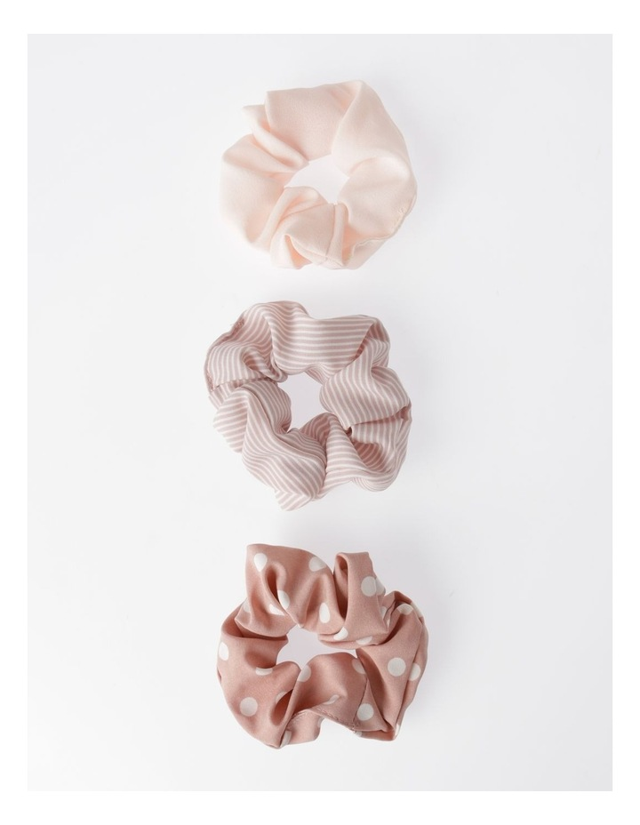 3 Pack Assorted Scrunchie Xmas Bauble Hair Accessory image 2