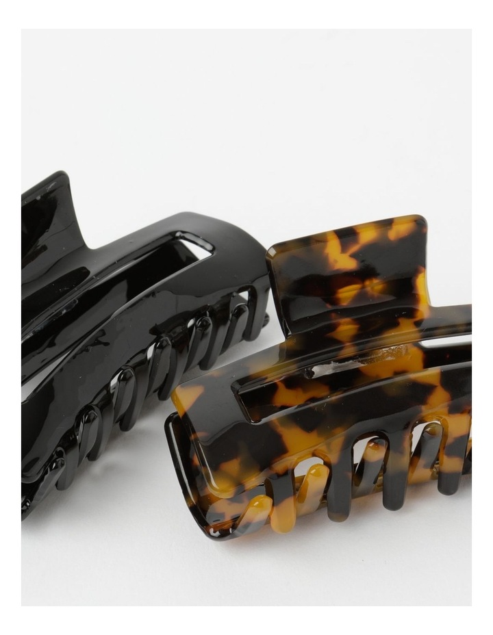 Large Claw Clip 2Pk Hair Accessory image 2