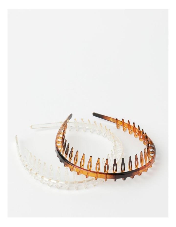 Tooth Headband 2Pk Hair Accessory image 1