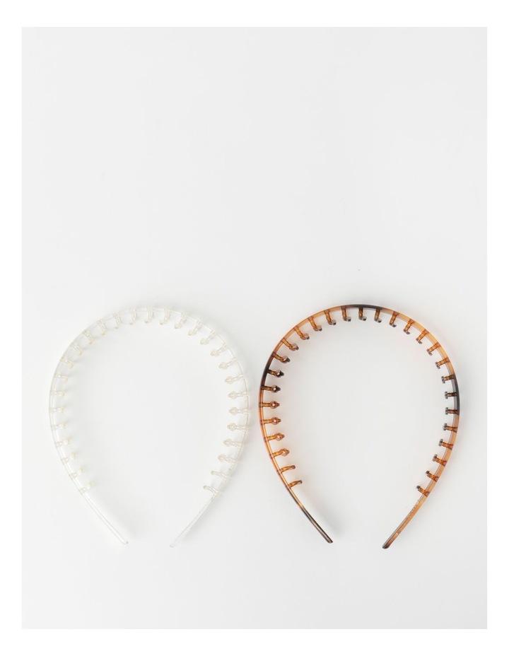 Tooth Headband 2Pk Hair Accessory image 2